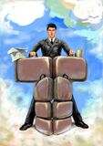 L'uomo d'affari royalty illustrazione gratis