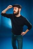 L'uomo inquisitore Fotografia Stock