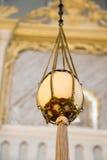 L'uovo dello struzzo trovato in ottomano ha fatto le moschee Immagine Stock