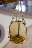 L'uovo dello struzzo trovato in ottomano ha fatto le moschee Fotografia Stock