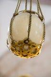 L'uovo dello struzzo trovato in ottomano ha fatto le moschee Immagine Stock Libera da Diritti