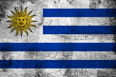 l'uruguay illustration de vecteur