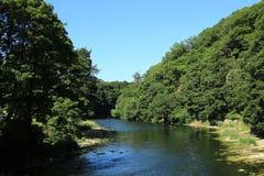 L'usage majestueux de rivière photo stock