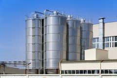 L'usine chimique Russie Photos libres de droits