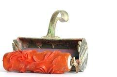 L'usine décorative de rouleau de peinture usine le décorateur Image stock