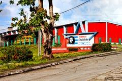 L'usine de chocolat, fondée par Ernesto Che Guevara dans les 196 Images stock
