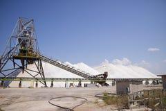 L'usine de sel Photos libres de droits