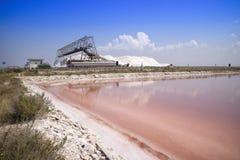 L'usine de sel Photographie stock libre de droits