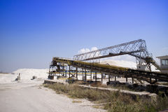 L'usine de sel Photo stock