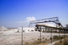 L'usine de sel Images stock