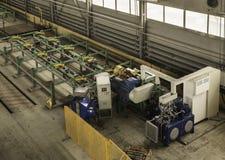 L'usine où produit la garniture de forage Photographie stock