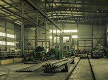 L'usine où produit la garniture de forage photos libres de droits