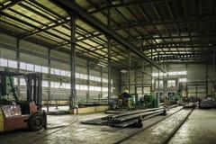 L'usine où produit la garniture de forage Photo stock