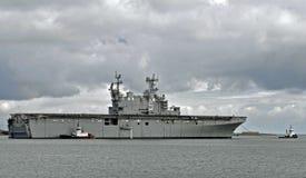 L'USS Peleliu (LHA-5) Photo stock