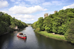 L'usure de fleuve à Durham Image libre de droits
