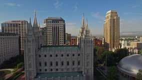 L'Utah aereo Salt Lake City archivi video