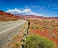 L'Utah 95 in canyon di Frye fotografia stock libera da diritti