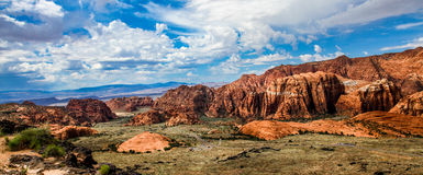 L'Utah del sud Fotografia Stock