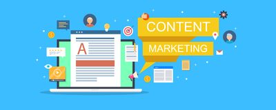 L'utilisateur a basé le développement et le marketing satisfaits, contenu s'engageant, assistance, media social, optimisation de  illustration stock
