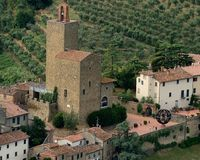 L'Vinci-Italia fotografia stock