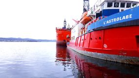 L'Astrolabe in Hobart Port Stock Photography