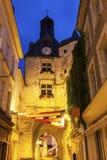 L'Horloge Tower in Amboise Stock Photo
