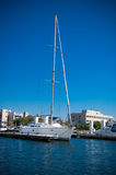 L'yacht Fotografia Stock Libera da Diritti