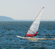 L'yacht che partecipa alla regata Fotografia Stock
