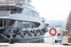Yacht di lusso Immagini Stock