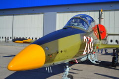 L-39ZA Albatros wojskowego samolot Obraz Royalty Free