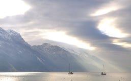 L1188 Fishing Boats royalty free stock photography