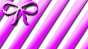 LAÇO ATUAL cor-de-rosa imagens de stock royalty free