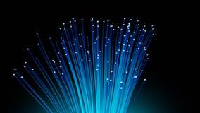 Laço da fibra ótica ilustração stock