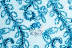 Laço da textura uma tela aberta fina, Imagens de Stock