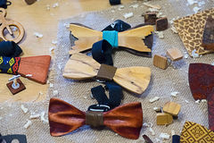 Laço de madeira Imagem de Stock
