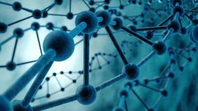 Laço do ADN ilustração do vetor