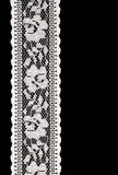 Laço do branco do vintage Imagens de Stock