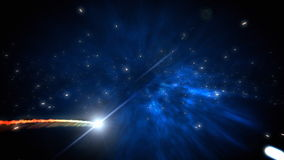 Laço do cometa ilustração royalty free