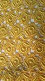 Laço do ouro Foto de Stock Royalty Free
