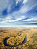 Laço do rio Foto de Stock Royalty Free