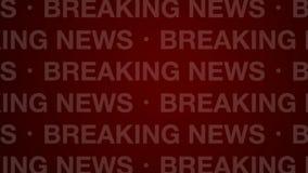 Laço do vermelho do fundo das notícias de última hora ilustração do vetor