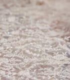 Laço do vestido de casamento Foto de Stock Royalty Free
