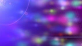 Laço festivo da partícula das luzes do partido com alargamento da lente ilustração do vetor