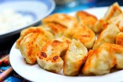 Laço fritado do Wo (bolinhos de massa) Fotos de Stock