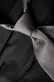 Laço preto e branco na série preta Imagens de Stock