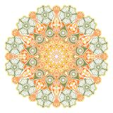 Laço redondo decorativo ilustração do vetor