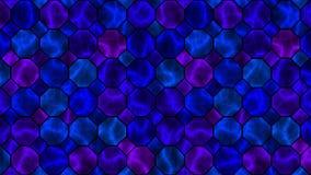 Laço sem emenda do mosaico do sumário da eletricidade do plasma filme