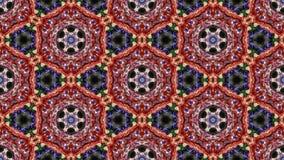 Laço sem emenda do vj calidoscópico vídeos de arquivo
