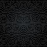 Laço sem emenda Teste padrão floral abstrato Fotografia de Stock Royalty Free