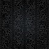 Laço sem emenda Teste padrão floral abstrato Imagens de Stock Royalty Free